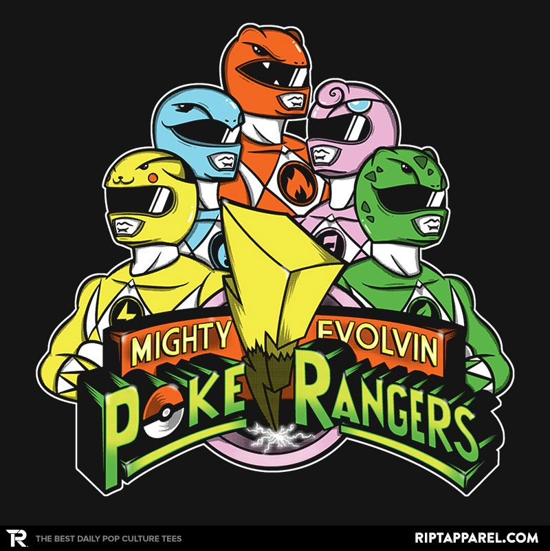 ffe0ddf5 ''Poke Rangers'' by Coddesigns available today only, 8/19/15, at RIPT  Apparel