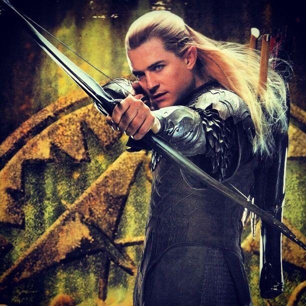 Legolas in The Hobbit