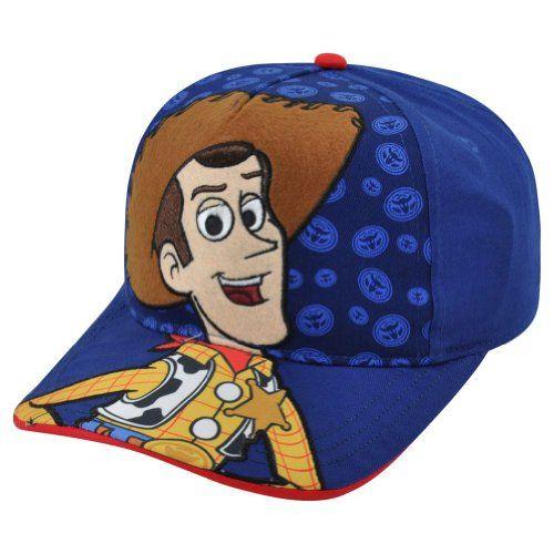 Disney Pixar Toy Story 3 Woody Hey Howdy Child Adjustable Velcro Blue Hat  Cap   niftywarehouse.com 536f281cd0ed