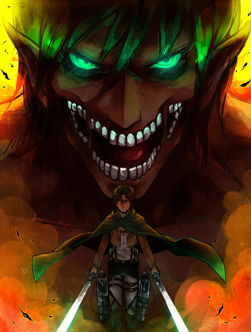Attack On Titan Shingeki No Kyojin Rogue Titan And Levi Attack On Titan Eren Attack On Titan Episodes Attack On Titan Fanart