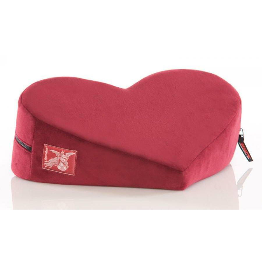 use the liberator heart wedge sex pillow during cunnilingus to use the liberator heart wedge sex pillow during cunnilingus to ease the strain on his neck