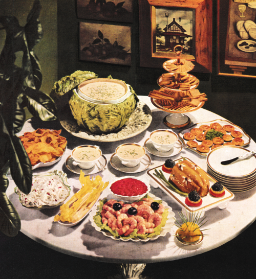 Buffet Cuisine 1950: Yesteryear's Dining In 2019
