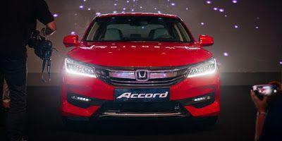 هوندا تطلق أكورد 2017 الجديدة في دبي Honda Accord Honda Suv Car