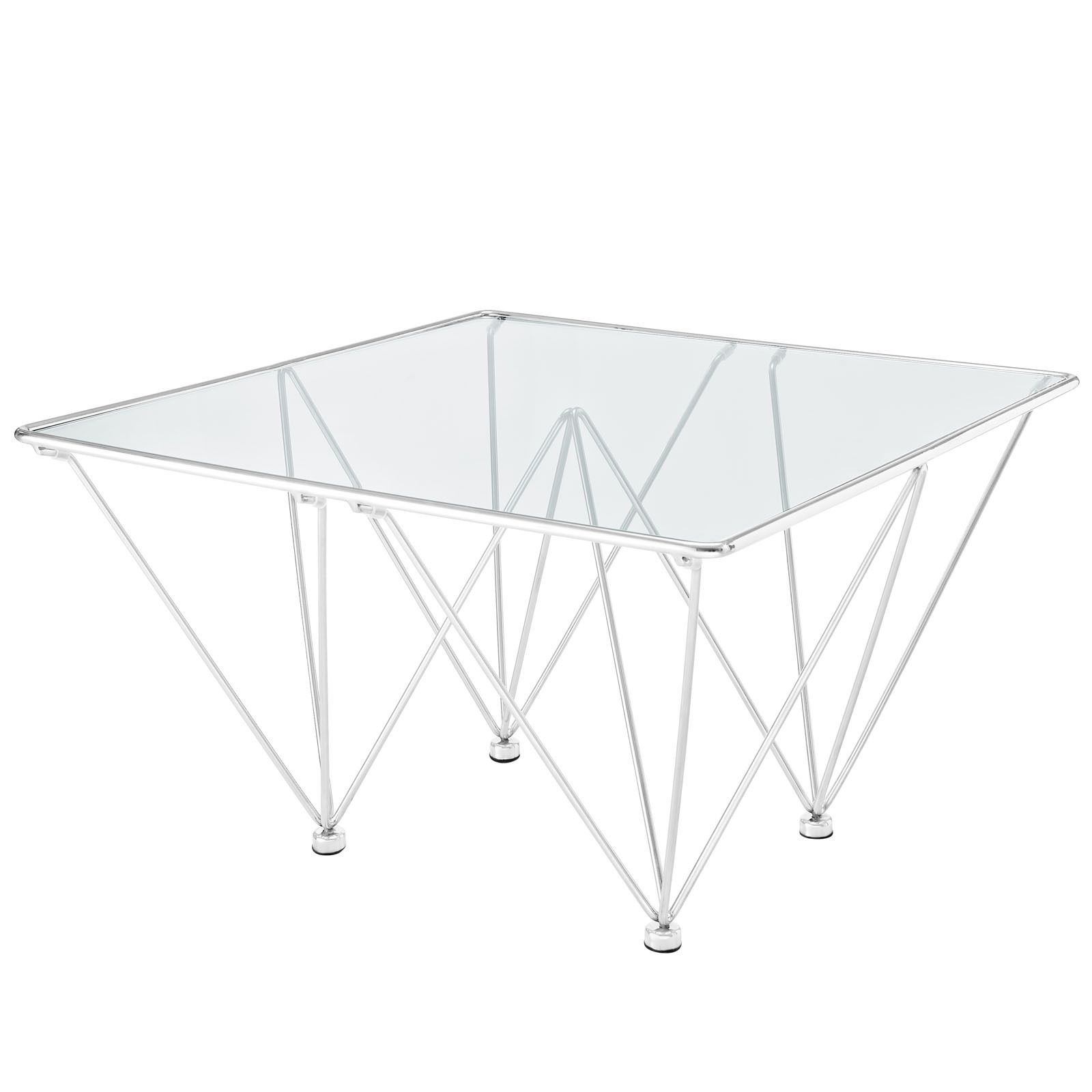 Edifice Stainless Steel Coffee Table by Modway