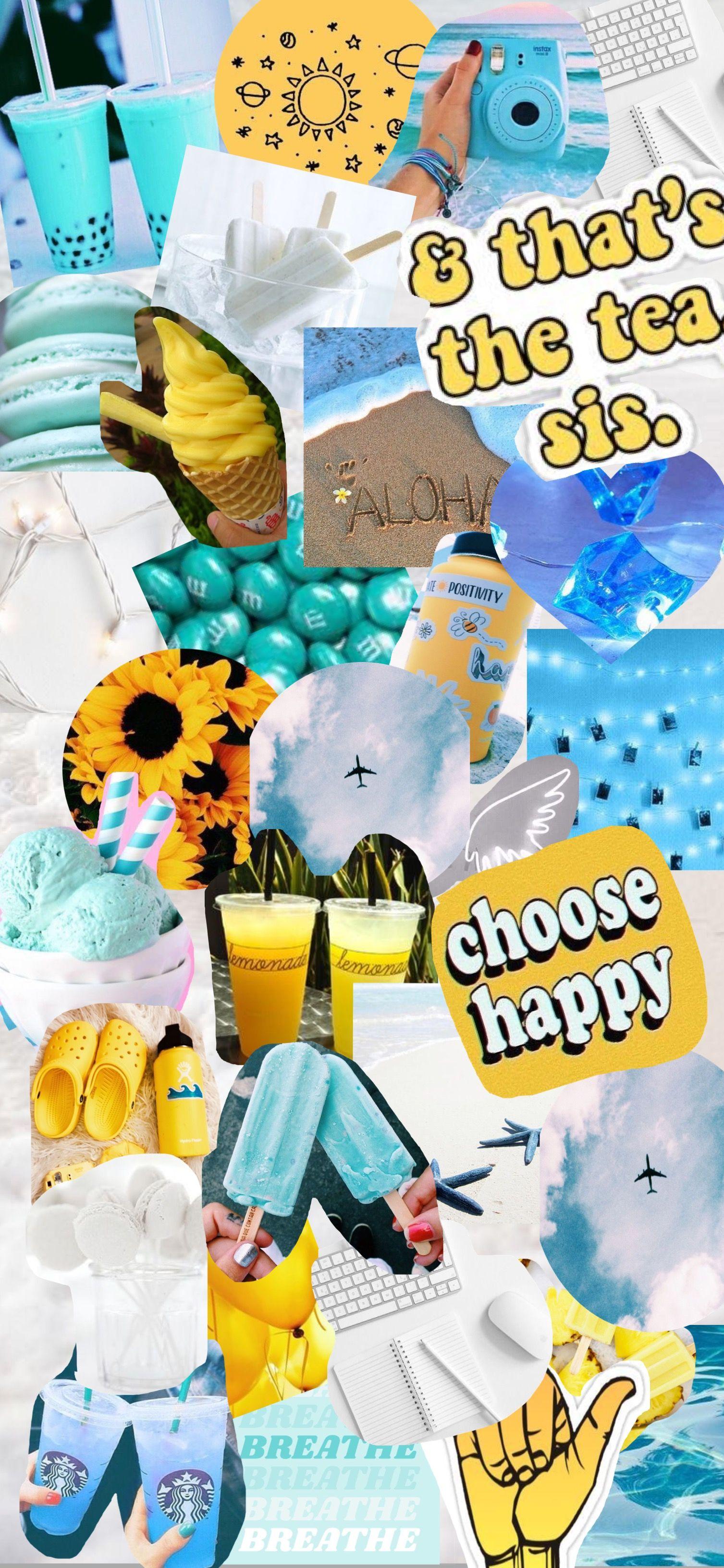 Summer Aesthetic Iphone Wallpaper Yellow Wallpaper Spring Wallpaper