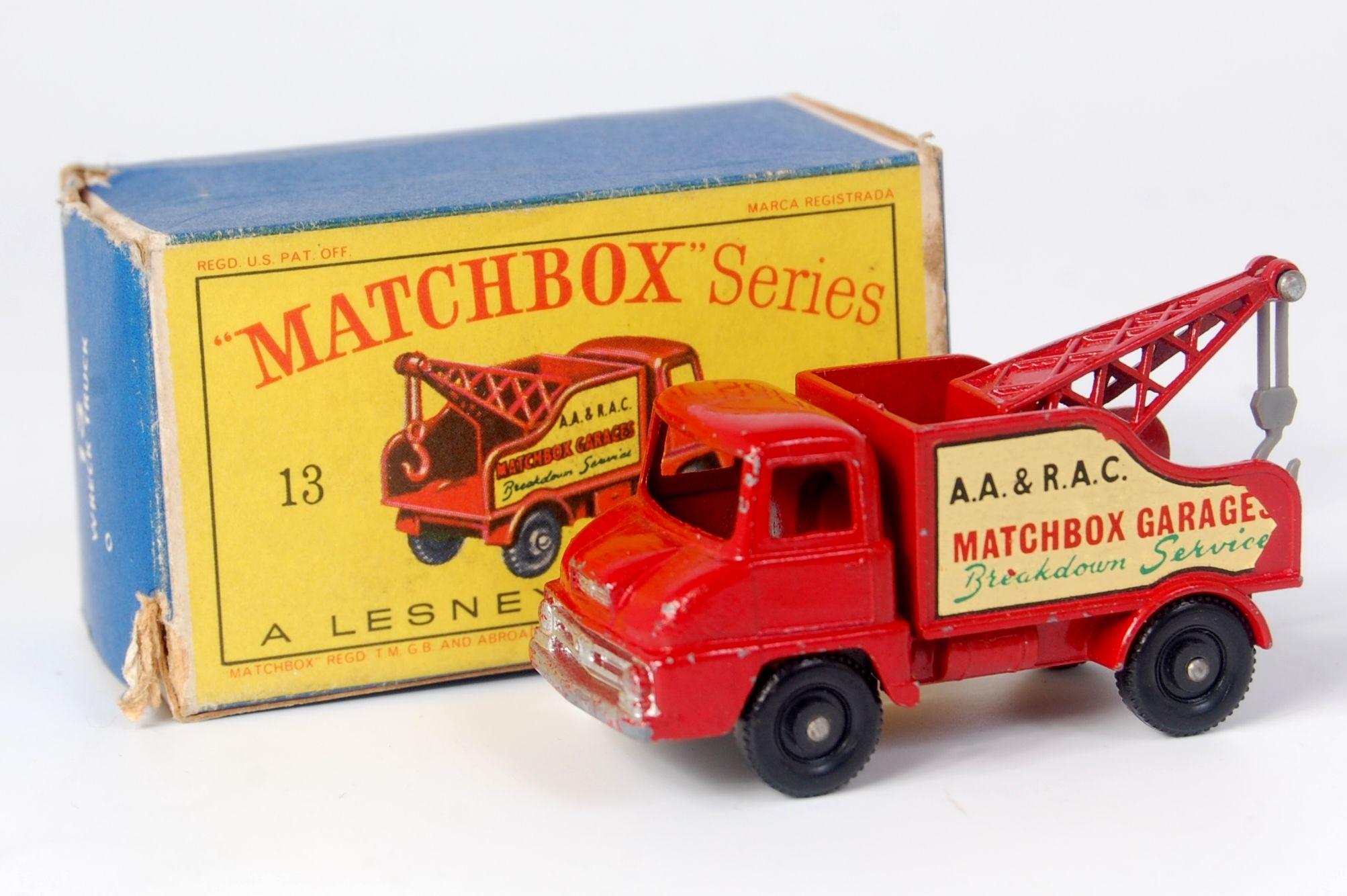 Matchbox 13C   Thames Wreck Truck reproduction Jib