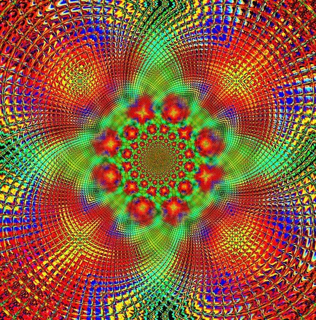 Mexican Blanket Kaleidoscope