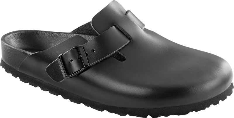 9a663643a7c Classic Birkenstock Boston Exquisite Narrow Black 948093 - BLACK ...
