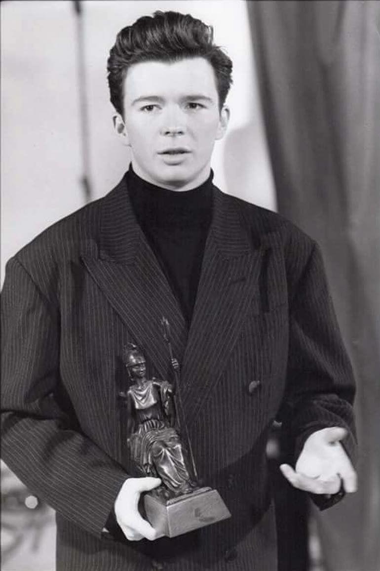 Rick Astley Brits 1988 Rick Astley Rick Rolled Billy Joel