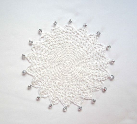 White Crochet Milk Jug Cover Glass Cover Pims Jug Cover With Clear