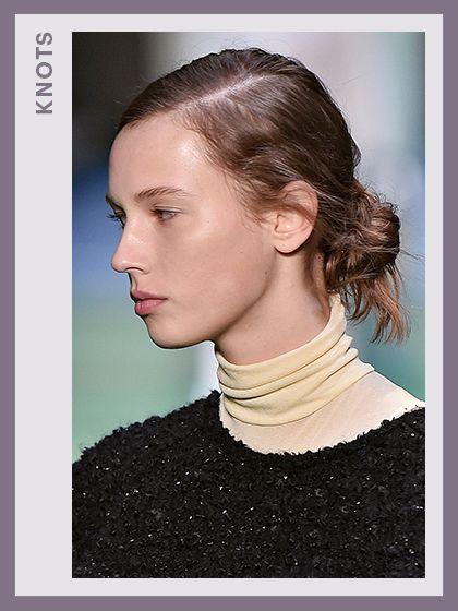 Fashion Week Hair - Celine   allure.com