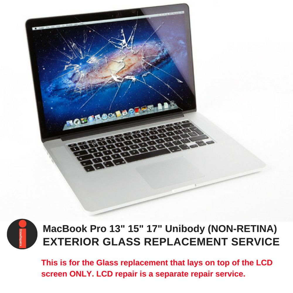 13 Inch Unibody Macbook Pro Glass Screen Cover Replacement Used