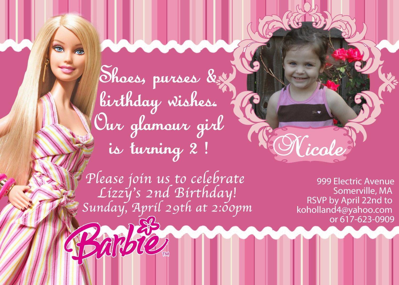 29 Best Alyssa S 4th Bday Images On Pinterest Birthdays Barbie