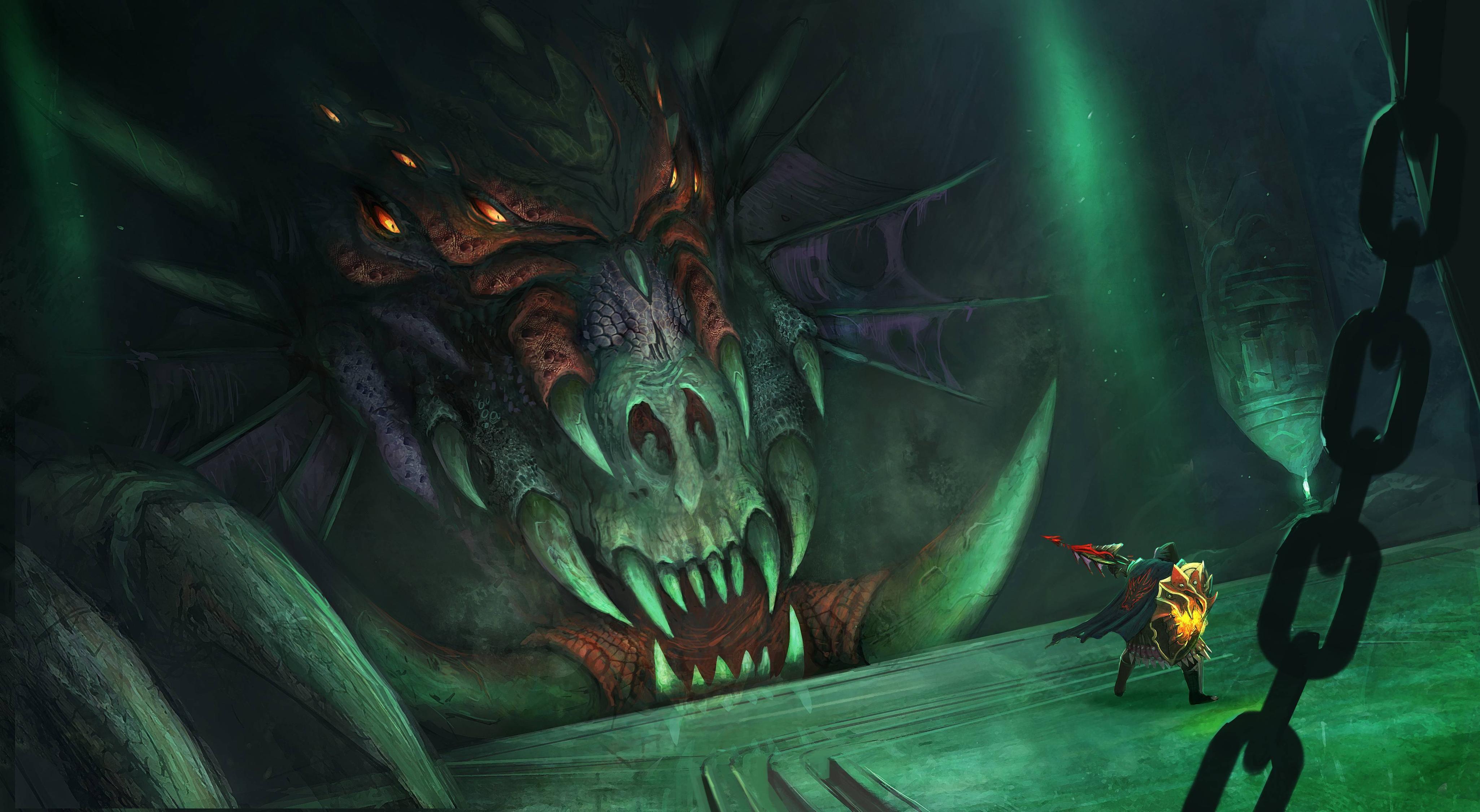 Queen Black Dragon From The Mmorpg Runescape Runescape Pinterest