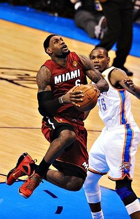 size 40 70d03 bbadd dont like basketball. LeBron James, Miami Heat versus Kevin Durant,  Oklahoma City Thunder.