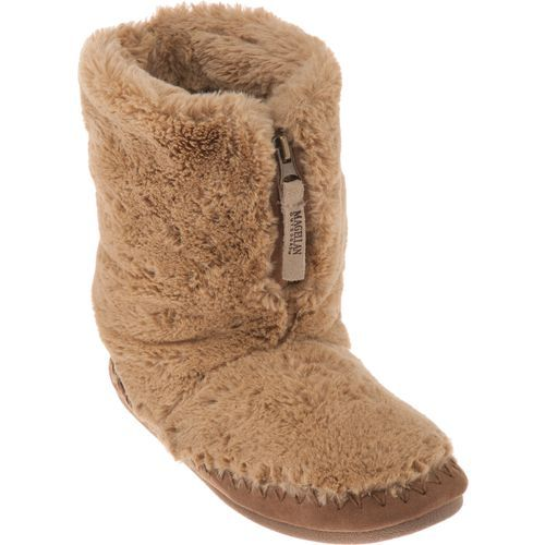 e0014772835 Image for Magellan Outdoors™ Women's Fuzzy Zip Bootie Slippers from ...