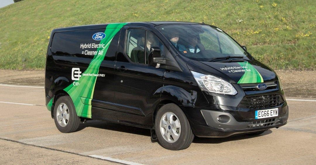 Ford Transit Custom Phev La Hibridacion De Rango Extendido En