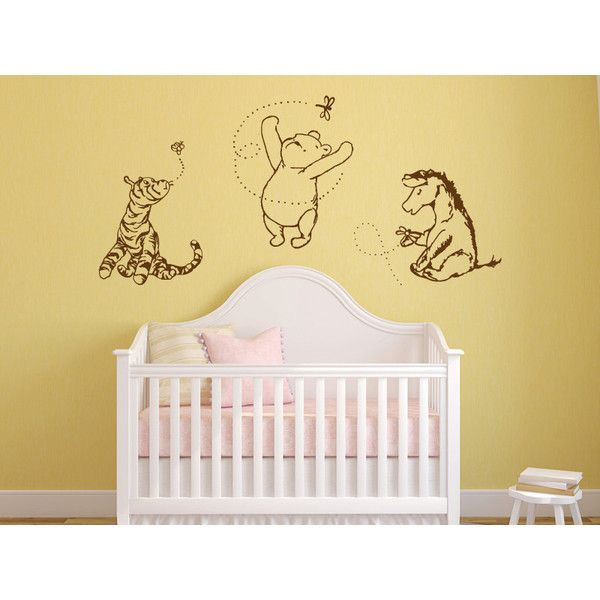 Enchanting Winnie The Pooh Vinyl Wall Art Collection - Wall Art ...