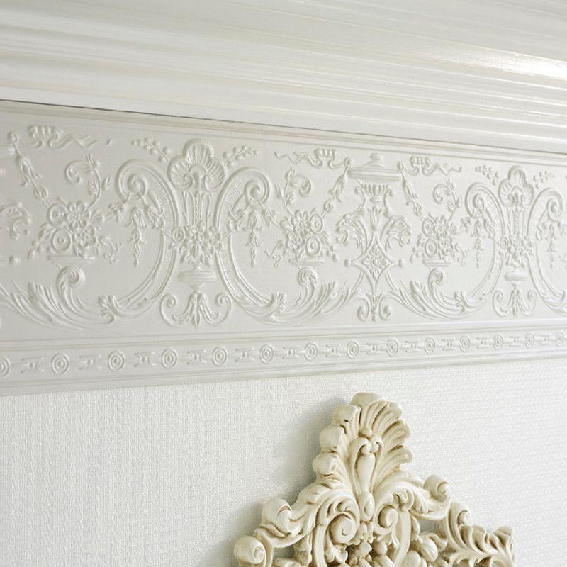 Lincrusta Empire Frieze Paintable textured wallpaper
