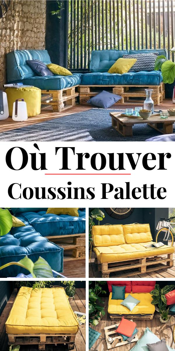 Coussin Palette : Guide d\'Achat 2019 (+ Bons Plans) | 1 terrasse ...