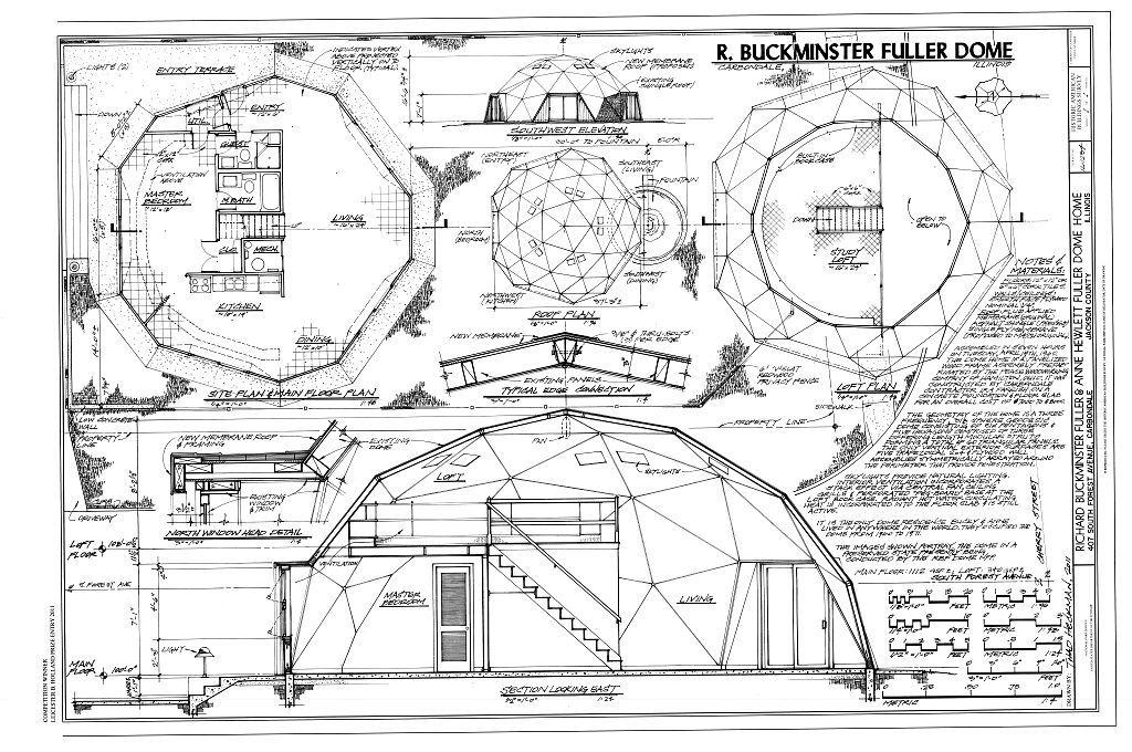 fuller buscar con google cabane lappe pinterest d me g od sique geodesique et architecture. Black Bedroom Furniture Sets. Home Design Ideas