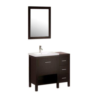 Kokols 36 Single Bathroom Vanity Set With Mirror Products