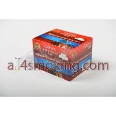 Cod produs: Filtre Cartel Standard Disponibilitate: În Stoc Preţ: 3,00RON  Filtre Cartel Standard .  Cutia contine 200 filtre.