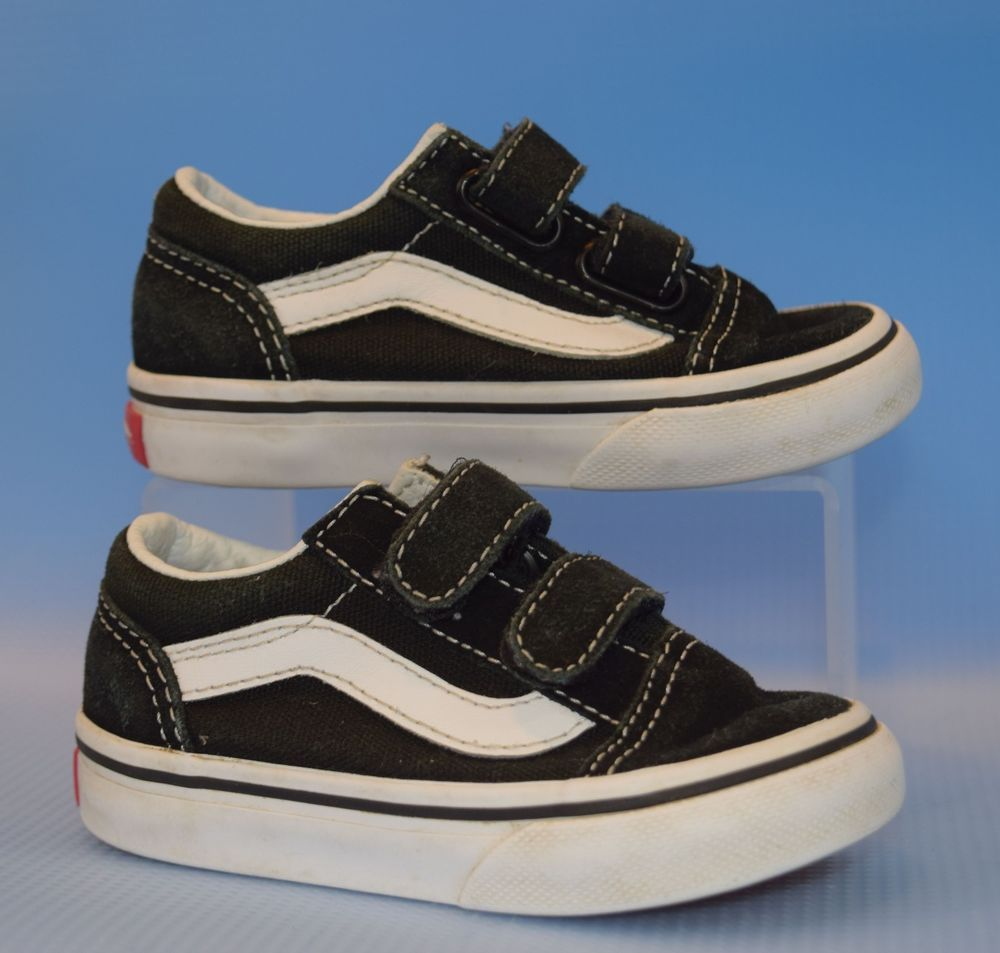 Vans SK8-Mid Reissue 721454 Black White Infant Toddler Boy Girl Size 5.5   vans  Athletic b1b77e324