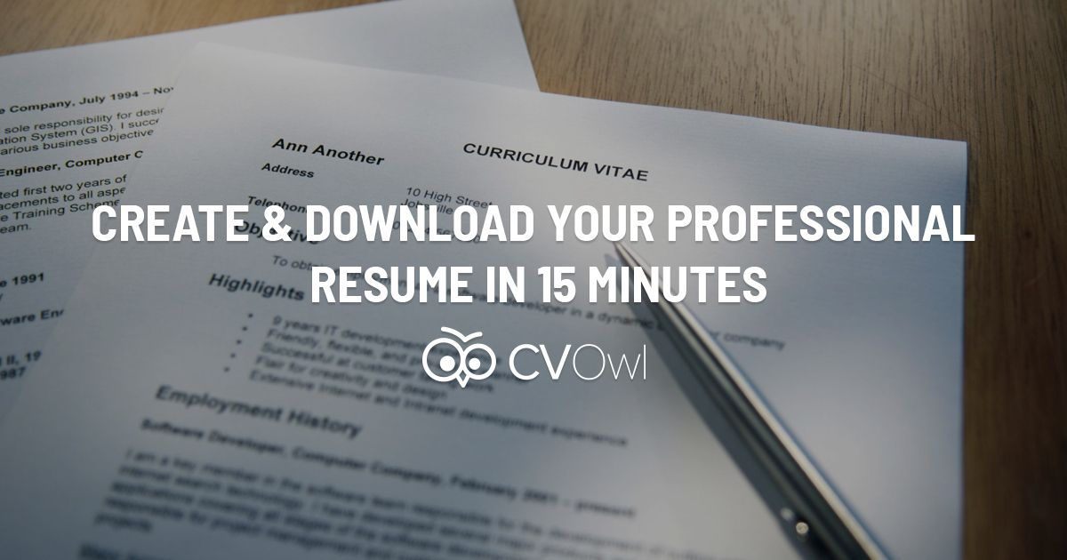 Make A Resume Online Free Download Beauteous Create Update And Download Recruiter Preferred Cv And Resume Online .
