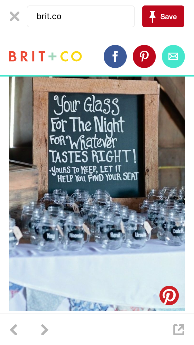 I Like The Idea Of Cups As Favors Something Reusable Weddings