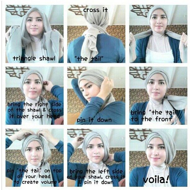 Hijab Tutorial Hijablogger Ms Hijablogger S Instagram Photos Hijab Tutorial Simple Hijab Tutorial Hijab Pesta