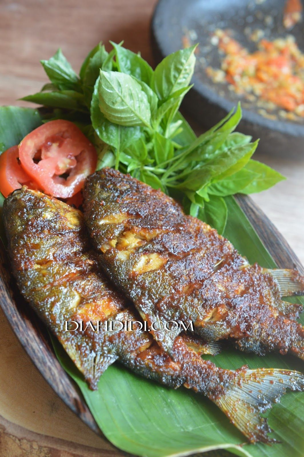 Diah Didi S Kitchen Bawal Bakar Pedas Manis Resep Ikan Bakar Makanan Ikan Makanan Dan Minuman