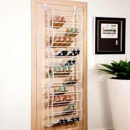 Fast Free Delivery in US Multifunctional Hanging Over the Door Shoe Rack Organizer 12 Layers Fit 36 Pairs