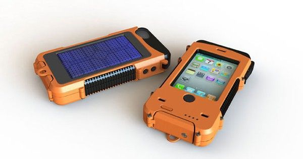 Rugged SolarPowered and Waterproof iPhone Case is a Backpacker's Dream is part of information-technology - Snow Lizard has unveiled their ultrarugged, solarpowered and waterproof iPhone case, perfect for outdoor warriors