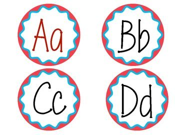 photo about Printable Word Wall Letters titled Totally free alphabet/phrase wall labels. A lot of takes advantage of! Phrase Wall
