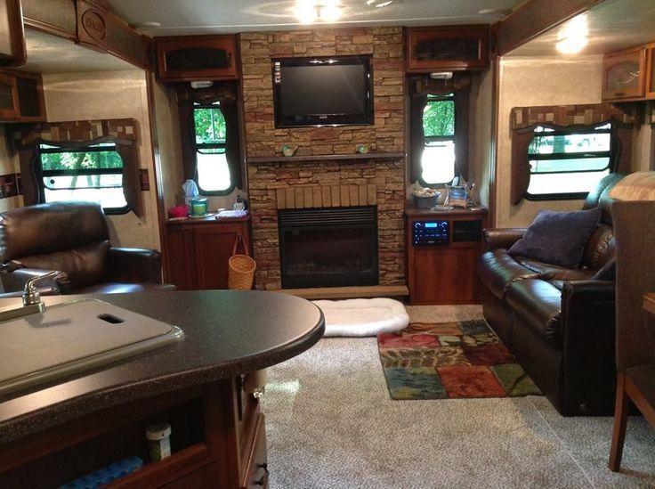 Redwood 38br Living Area 5th Wheel Camper Trailer Description