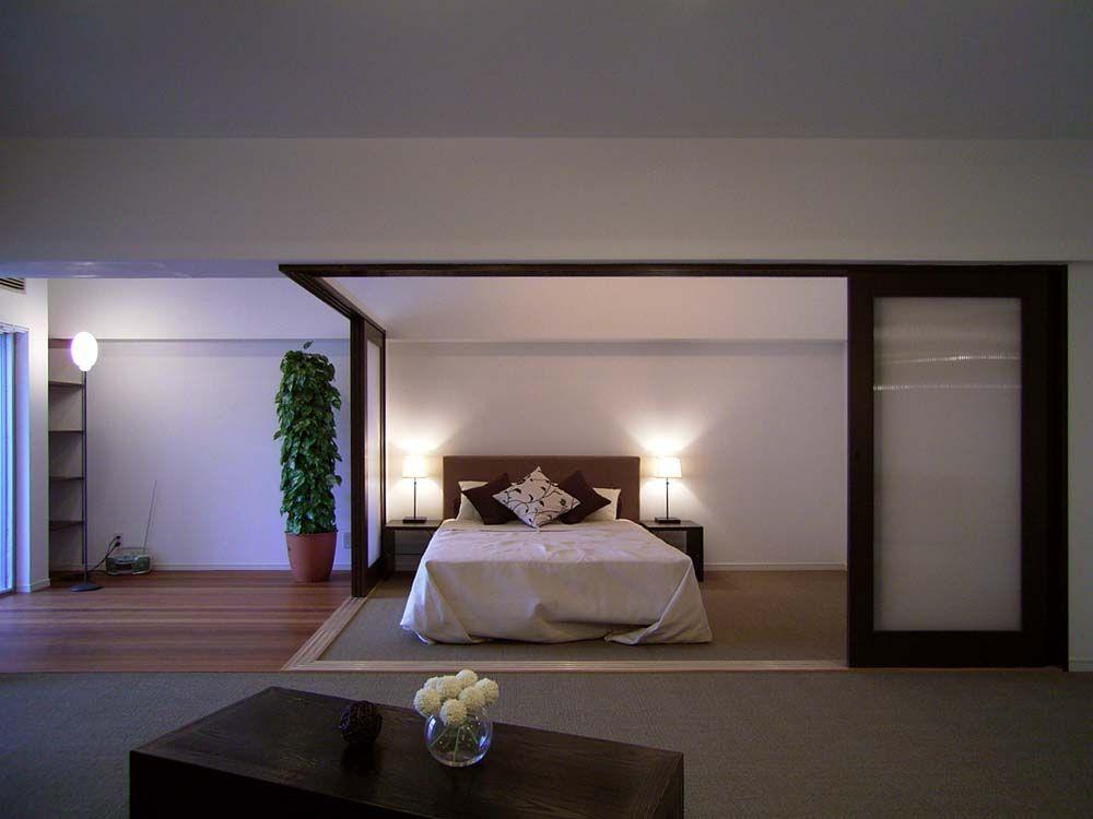 エキップ リノベーション ワンルーム 寝室 ベッドルーム リビング ワンルームの家 家 リビング