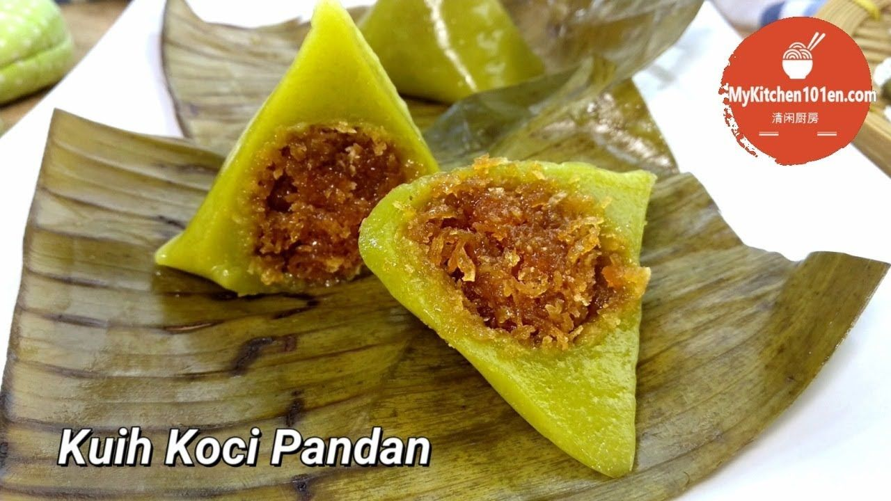 Kuih Koci Pandan MyKitchen101en YouTube Save food