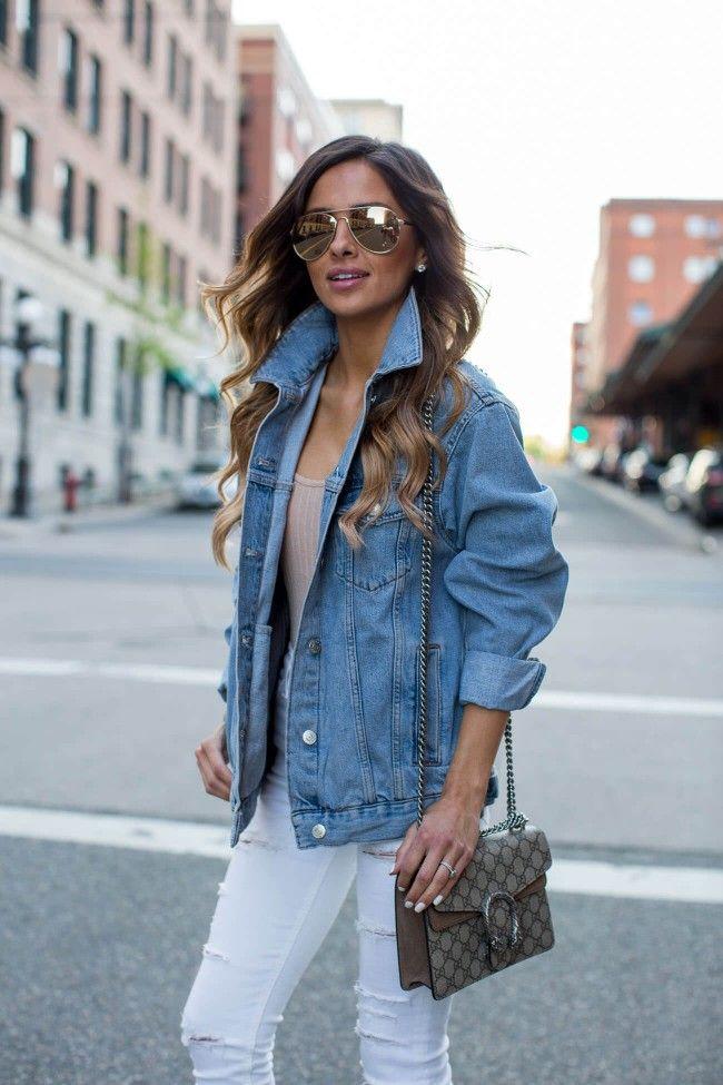 Street Style: Jean Jacket. - Mia Mia Mine. Topshop Jean Jacket ...