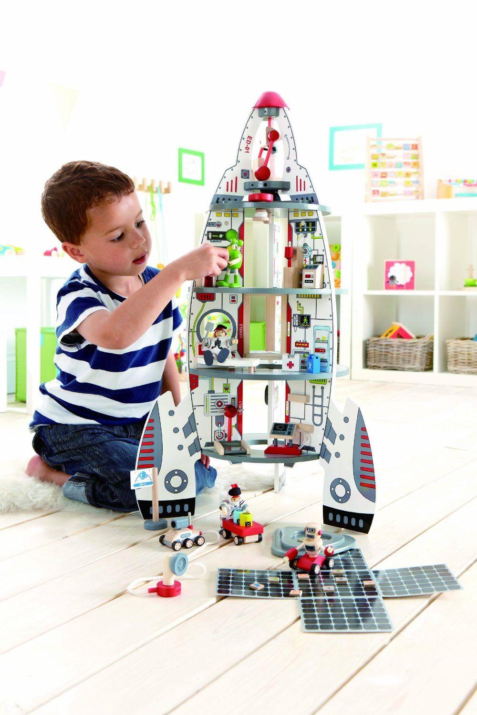 ตัวต่อชุดยานอวกาศ Discovery Space Center จาก Hape เสริมสร้างพัฒนาการและจินตนการให้แก่เด็กนำเข้าจากเยอรมัน  รายละเอียด: http://www.fancymall.asia/kids-baby/kids-toys-games/toy-0001.html