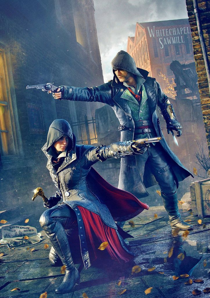 Assassin S Creed Syndicate Poster Assassins Creed Art Assassins Creed Artwork All Assassin S Creed
