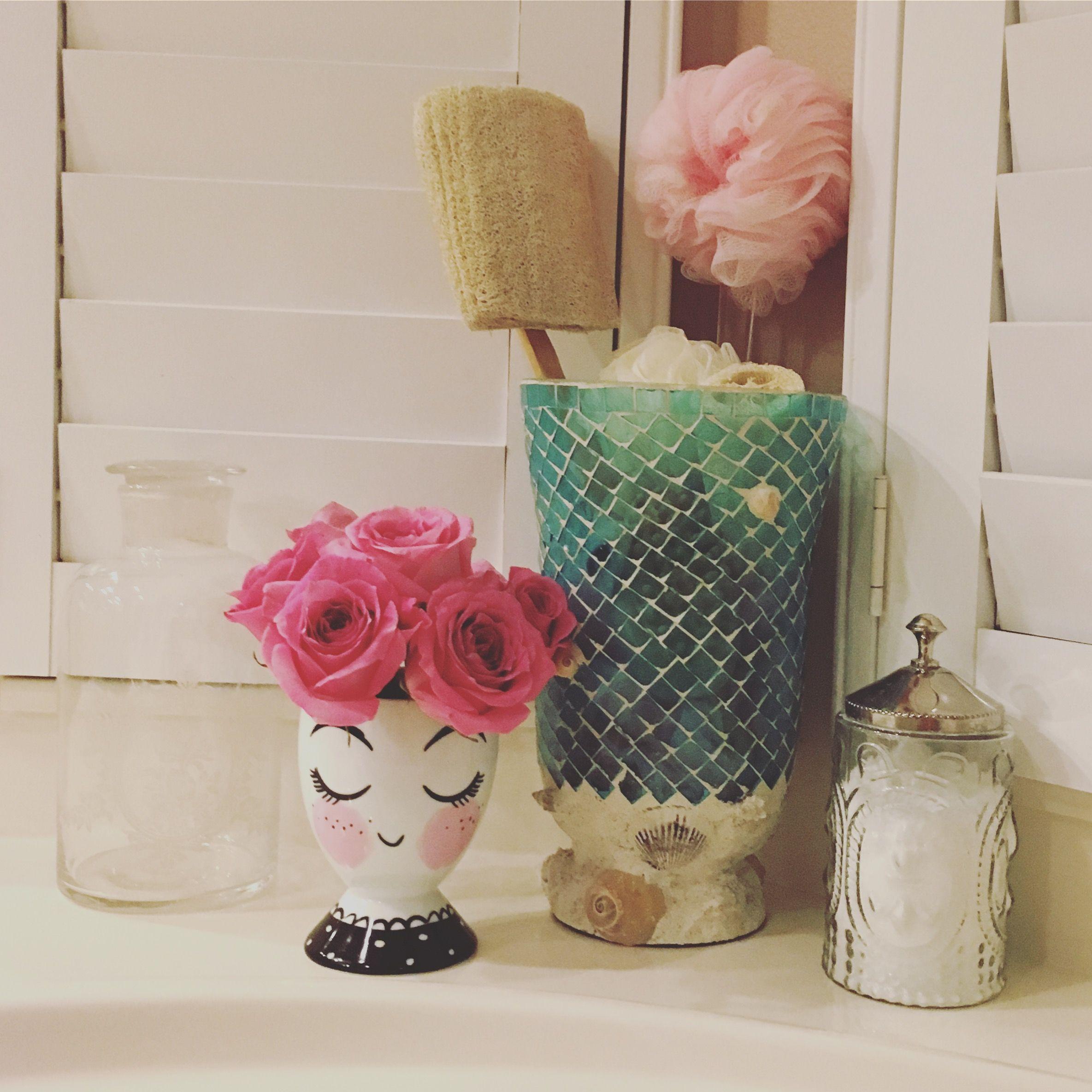 Target Threshold Face Vase Apothecary Jars Mosaic Hurricane Candle