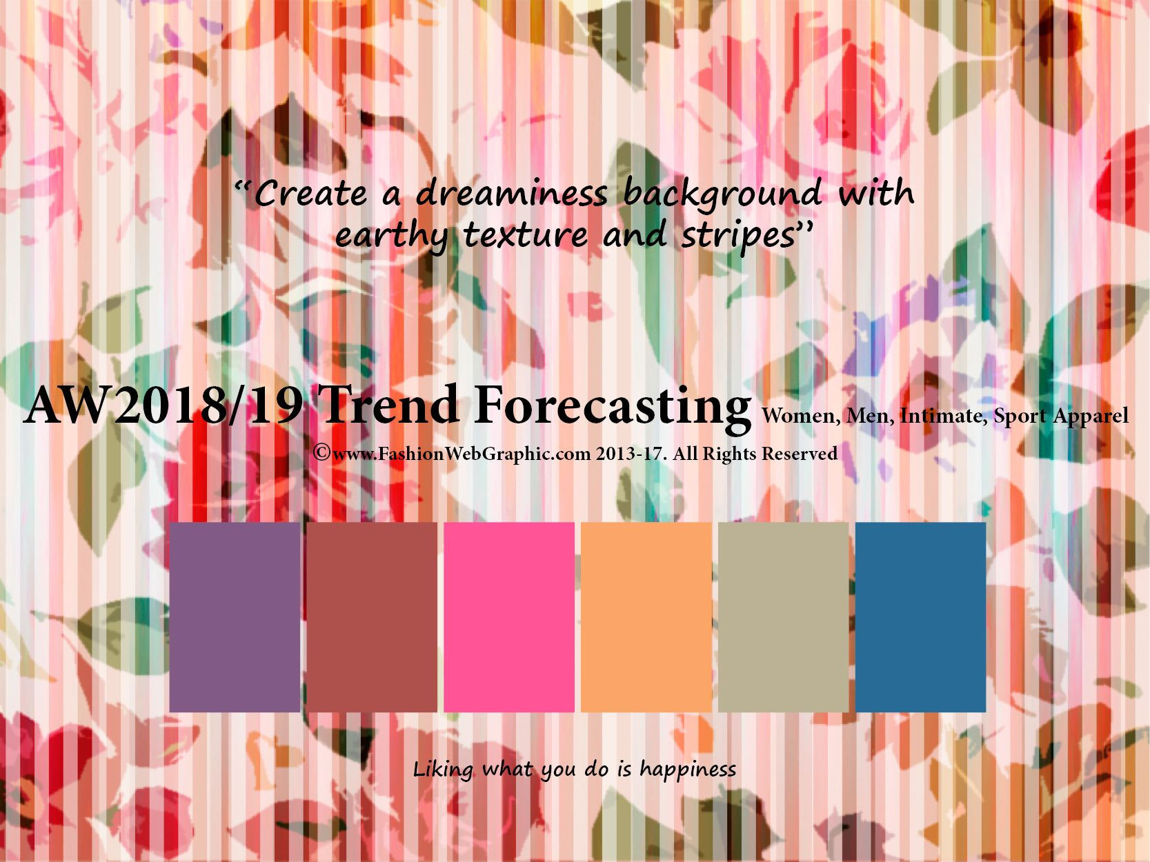 Autumn Winter 2018/2019 trend forecasting is A TREND/COLOR ...