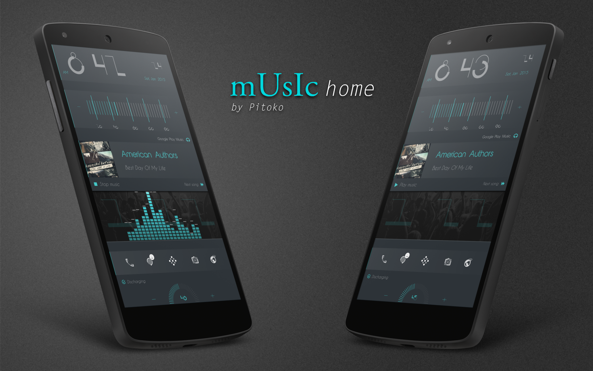 top android homescreen january 30th music home