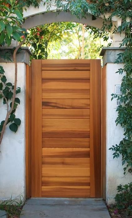 This Beautiful Sideyard Cedar Gate By Pacific Works Will Add The Perfect Touch To Your Backyard