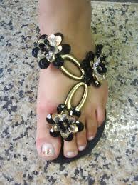 Chinelos decorados :: MulherBonita