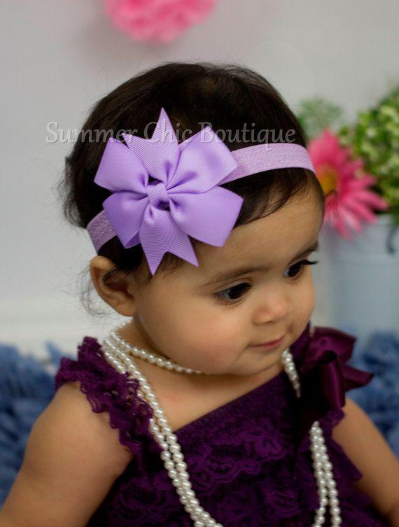 Headband,Bow on Fold over elastic Bow Headband Navy Pinwheel  Bow Headband Baby Headband Infant Headband Newborn Headband
