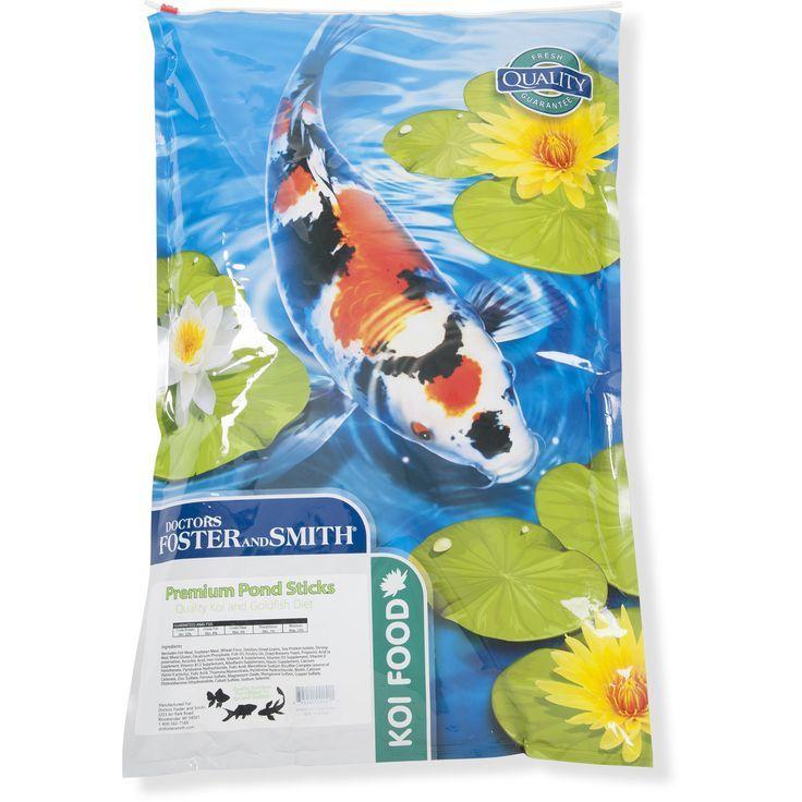 Drs foster and smith premium pond sticks koi and goldfish