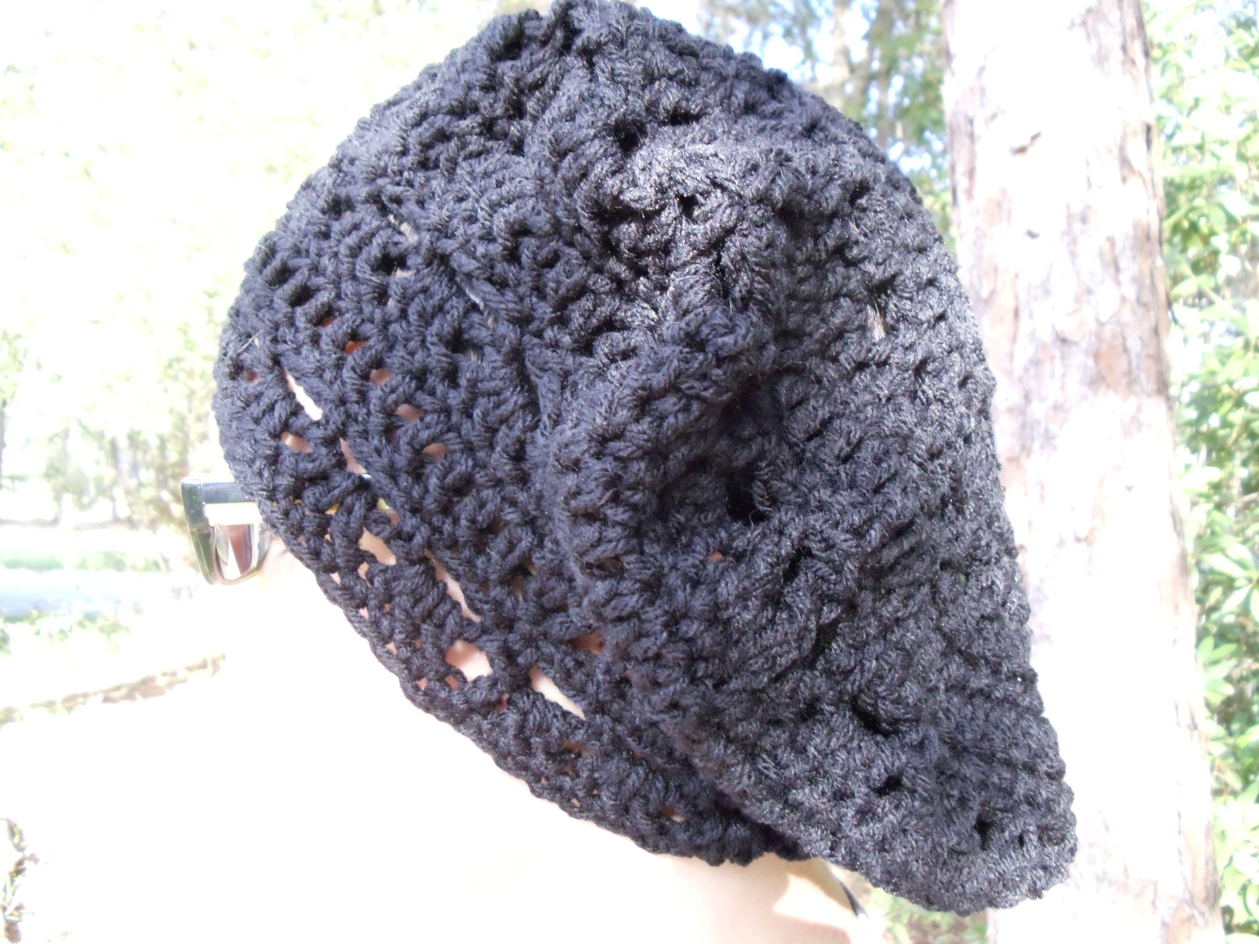 The crochet rasta hat i made in black crochet hat crochet the crochet rasta hat i made in black crochet hat bankloansurffo Image collections