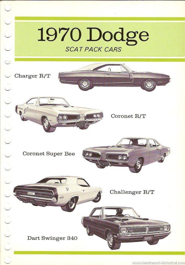 1969 dodge lineup
